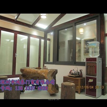 深圳酒店铝合金平开窗厂家