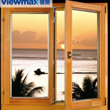 极景门窗 安全、静音 铝包塑窗