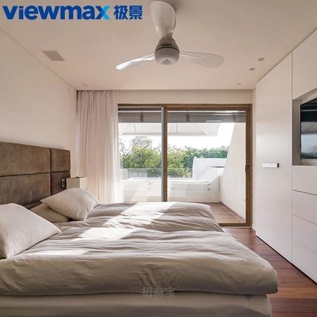 极景门窗 室内、阳台、厨房 隔断 铝包塑 推拉门