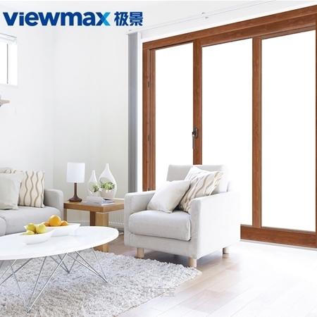 极景门窗 定制阳台门 入户门 塑钢 安全密封升级 提升推拉门