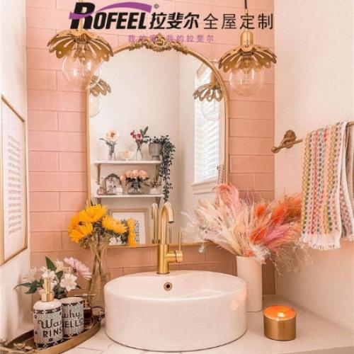 拉斐尔 粉红风格卫生间